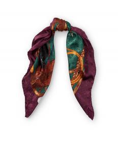 エクエステリアン シルク スカーフ
