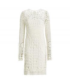 クロシェット シルク チュニック ドレス